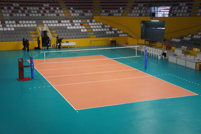 نتيجة بحث الصور عن مساحة ملعب كرة الطائرة